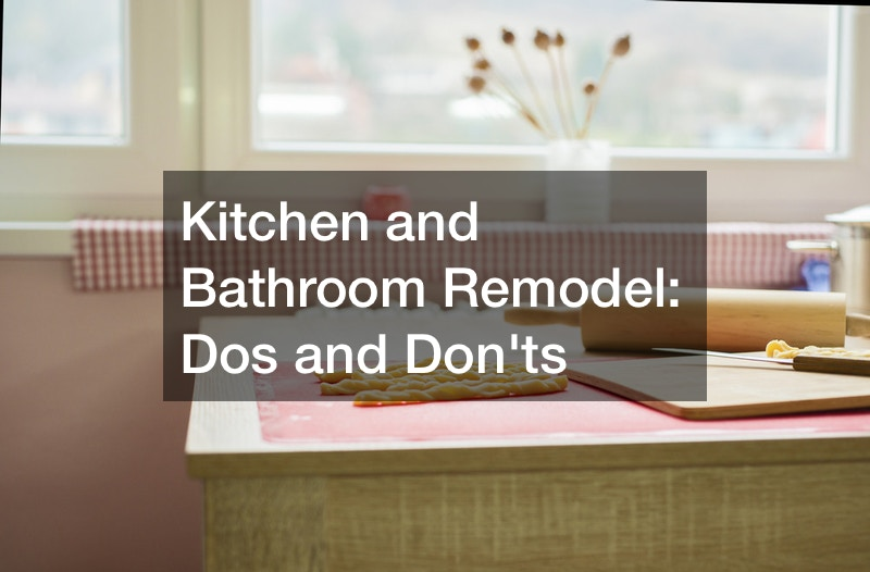 Contractors for kitchen and bathroom remodeling